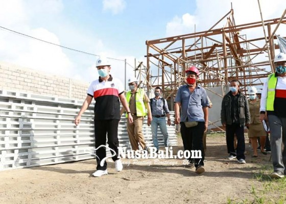 Nusabali.com - proyek-gedung-kantor-toss-alami-keterlambatan
