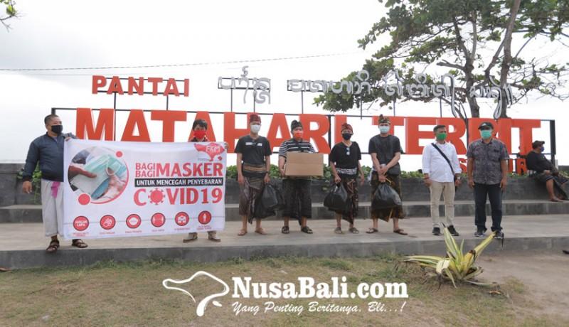 www.nusabali.com-forkom-antarmedia-bali-bangkit-bagikan-5000-masker