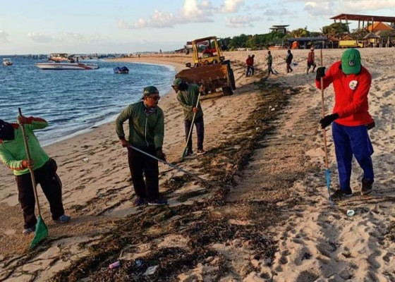 Nusabali.com - sampah-terus-berdatangan-di-pesisir-pantai-timur