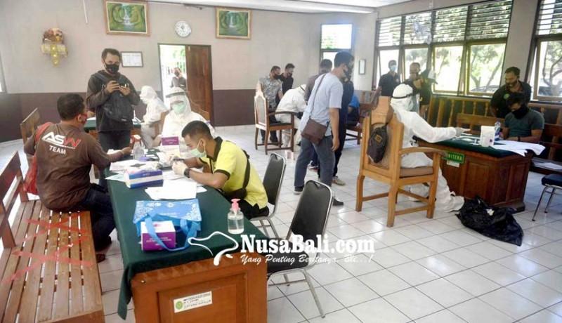 www.nusabali.com-rapid-test-massal-di-pn-denpasar