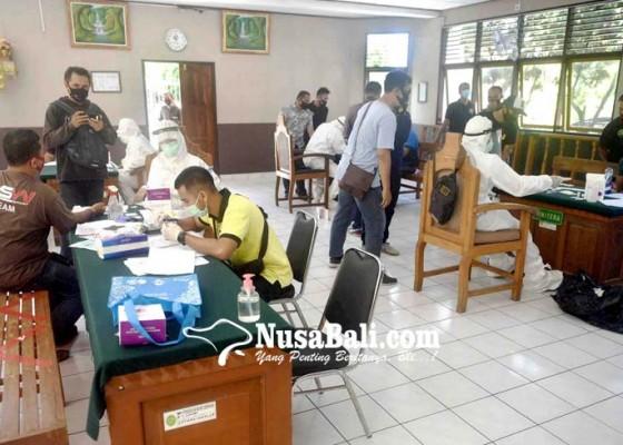 Nusabali.com - rapid-test-massal-di-pn-denpasar