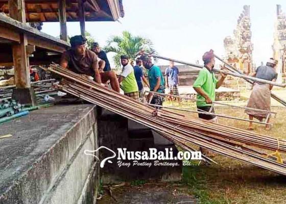 Nusabali.com - usaba-kaja-di-pura-puseh-seraya-pamedek-dibagi-3-shift