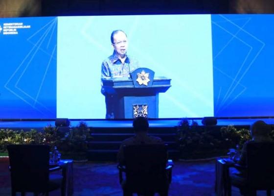 Nusabali.com - gubernur-apresiasi-naker-tanggap-covid-2020-digelar-di-nusa-dua