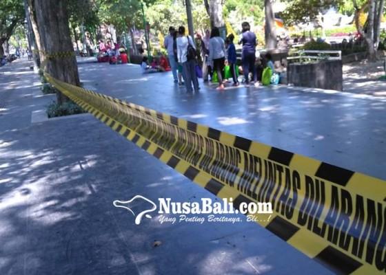 Nusabali.com - lapangan-puputan-badung-ditutup-lagi