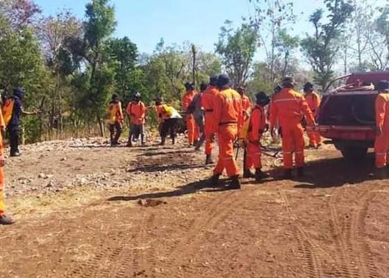 Nusabali.com - tnbb-siagakan-tim-penanggulangan-kebakaran-hutan-dan-lahan