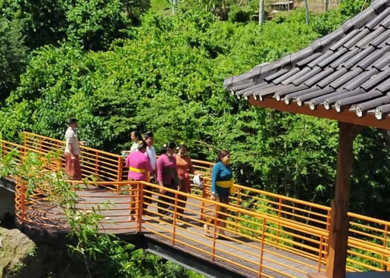 Nusabali.com - sukawati-tata-joging-trek-desa-wisata