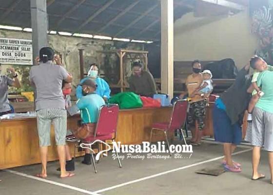 Nusabali.com - kader-posyandu-pegubugan-terapkan-protokol-kesehatan