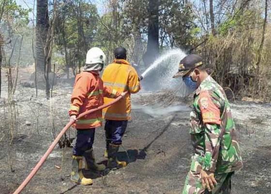 Nusabali.com - diduga-korsleting-listrik-rumah-terbakar