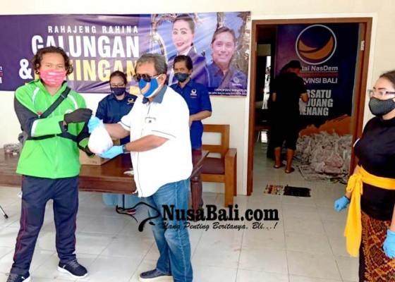 Nusabali.com - nasdem-bagikan-be-celeng-di-tengah-pandemi-covid-19