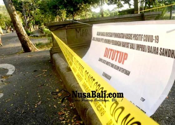 Nusabali.com - penyebaran-covid-19-meningkat-lapangan-puputan-margarana-ditutup