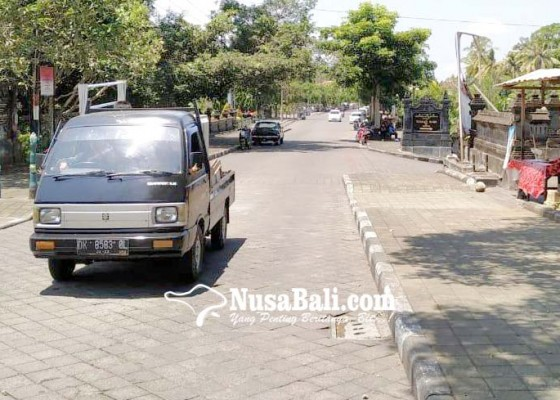Nusabali.com - pasar-dadakan-di-banjar-alangkajeng-ditiadakan