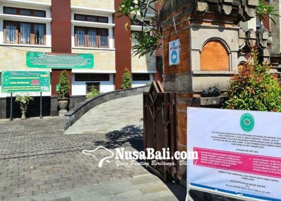 Nusabali.com - terpapar-covid-19-pn-gianyar-lockdown