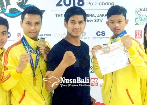 Nusabali.com - atlet-wushu-pon-latihan-di-klub