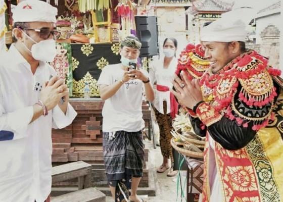 Nusabali.com - jaya-negara-hadiri-karya-ngadegan-lan-pasupati-sesuhunan-pura-mpu-aji-dukuh-sakti-kesiman
