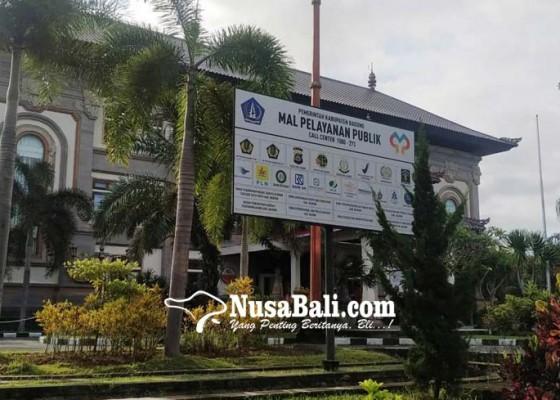 Nusabali.com - mal-pelayanan-publik-badung-tutup