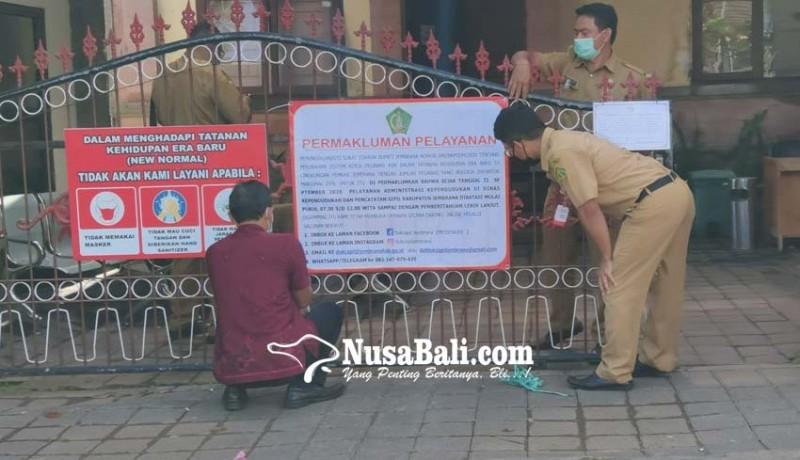 www.nusabali.com-dinas-dukcapil-jembrana-batasi-jam-layanan