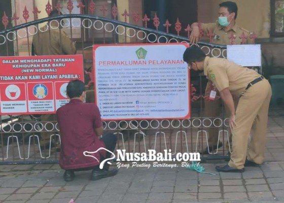 Nusabali.com - dinas-dukcapil-jembrana-batasi-jam-layanan