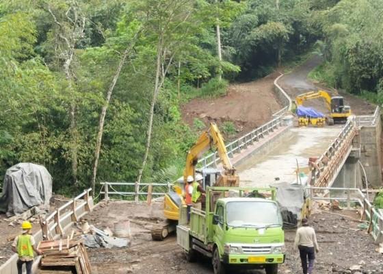 Nusabali.com - jembatan-kedui-metra-hampir-rampung