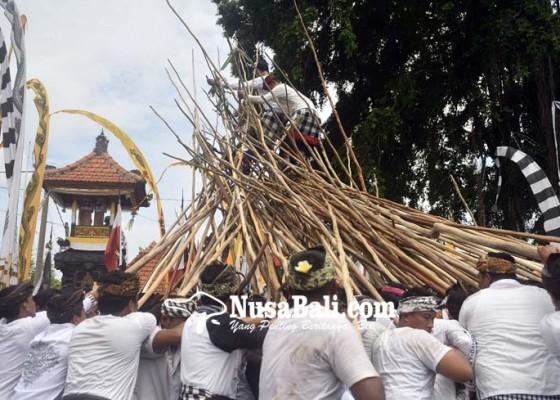 Nusabali.com - tradisi-makotek-di-munggu-tetap-digelar