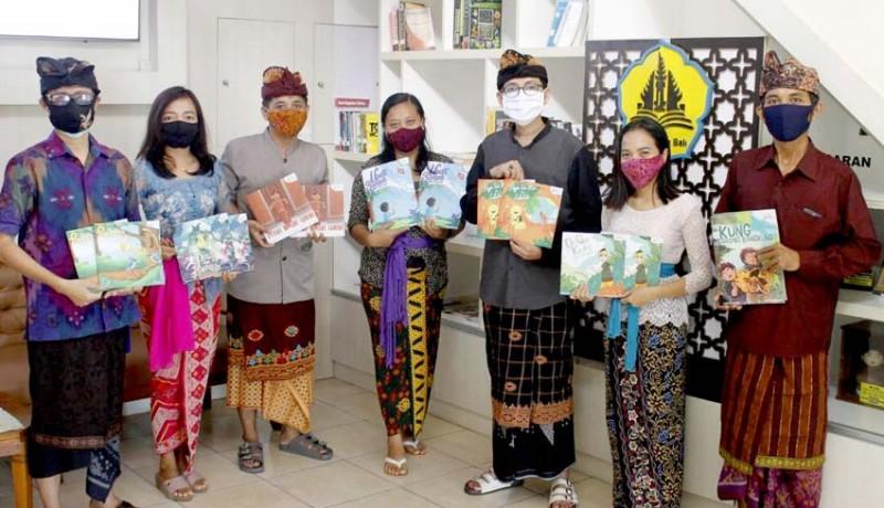www.nusabali.com-konsisten-dengan-kearifan-lokal-guru-berkarya-terbitkan-buku-cerita-anak-ii
