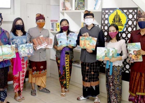 Nusabali.com - konsisten-dengan-kearifan-lokal-guru-berkarya-terbitkan-buku-cerita-anak-ii