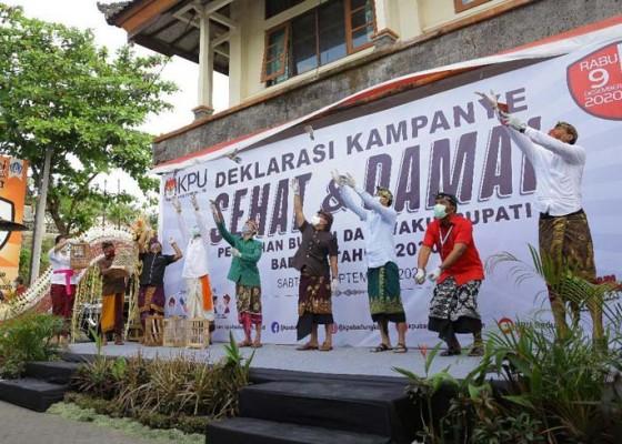 Nusabali.com - kpu-badung-deklarasi-kampanye-sehat-dan-damai