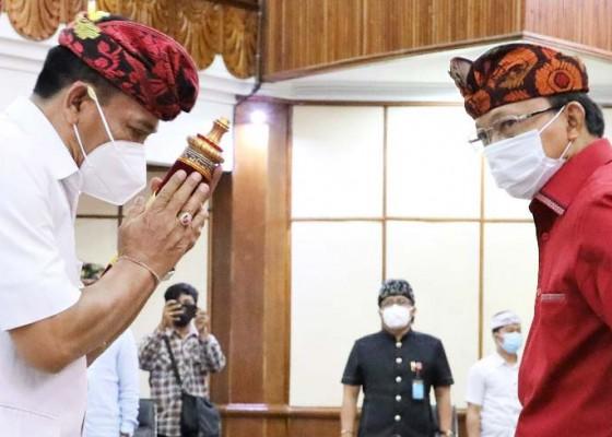 Nusabali.com - gubernur-berpesan-jaga-kondisifitas-dan-soal-penanganan-corona