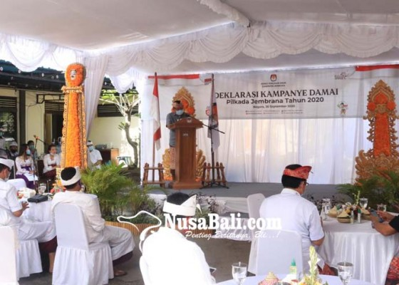 Nusabali.com - bupati-artha-ajak-paslon-kedepankan-prokes-covid-19