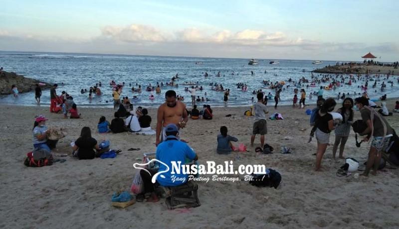 www.nusabali.com-pantai-jadi-pusat-kerumunan-pemkot-akan-lakukan-komunikasi-dengan-satgas-desa-adat