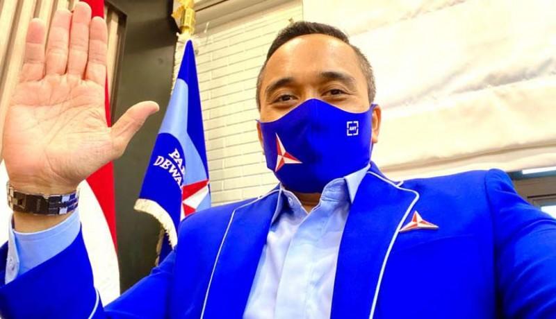 www.nusabali.com-kampanye-pilkada-paslon-demokrat-wajib-taat-prokes