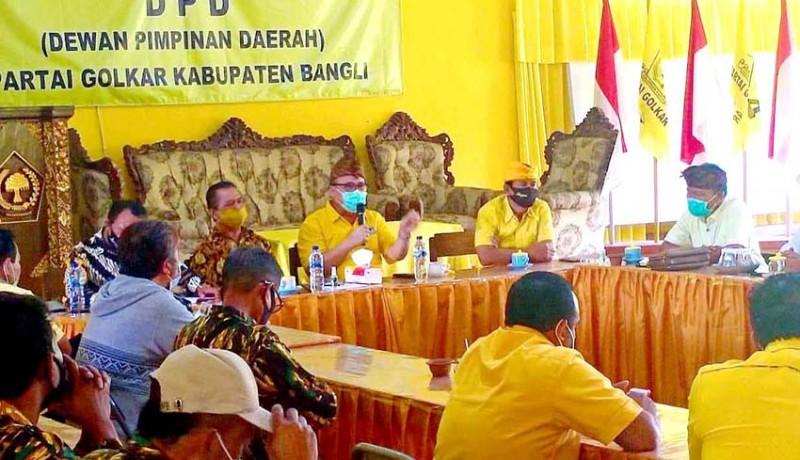 www.nusabali.com-golkar-bali-blusukan-support-paslon-di-6-pilkada