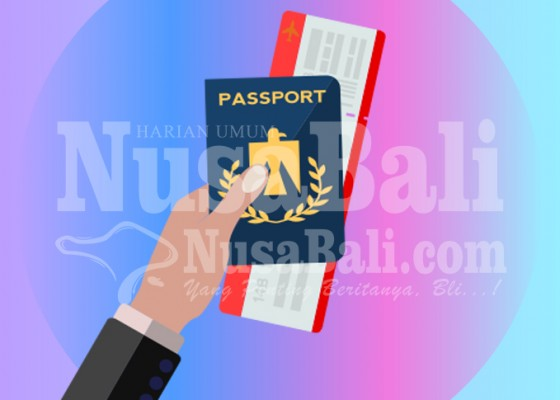 Nusabali.com - permintaan-pembuatan-paspor-turun-drastis