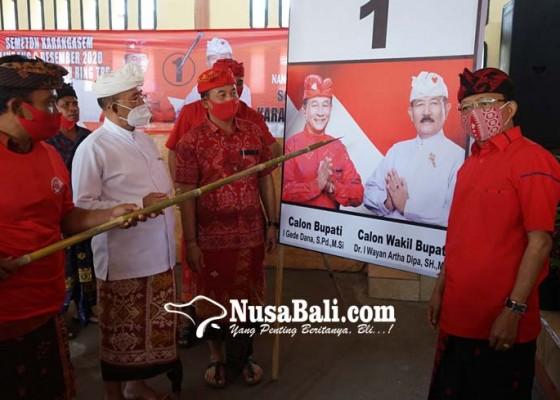 Nusabali.com - koster-ajak-coblos-gambar-dana-dipa
