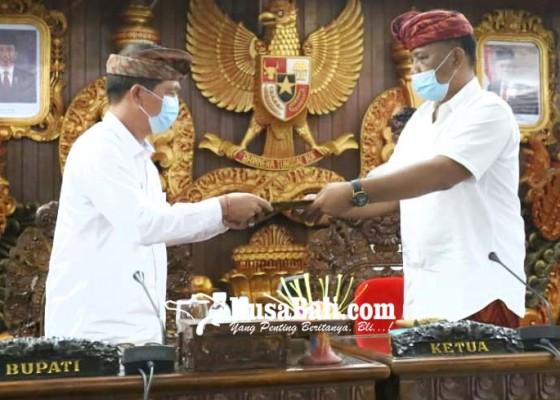 Nusabali.com - ranperda-bpd-ditetapkan-dprd-klungkung