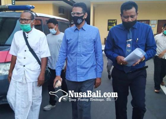 Nusabali.com - anggota-dprd-bali-dr-somvir-lapor-balik-ke-polisi