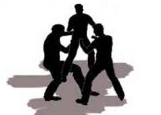 Nusabali.com - diduga-terlibat-pengeroyokan-di-renon-25-anggota-geng-motor-diamankan