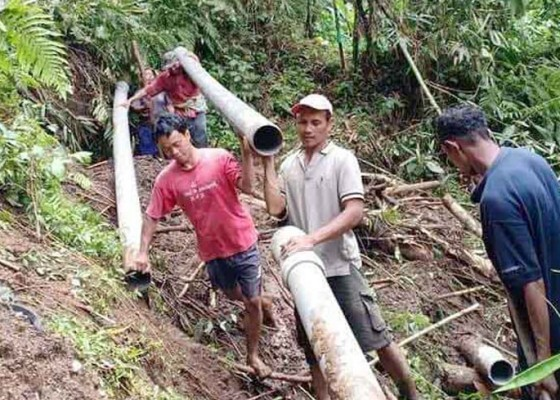 Nusabali.com - warga-kota-bangli-kesulitan-air-bersih