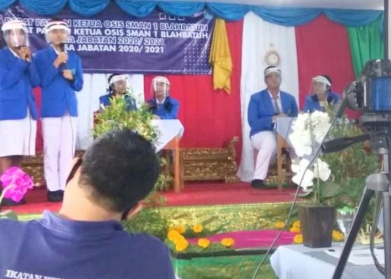 Nusabali.com - blasman-gelar-pemilihan-ketua-osis-e-voting