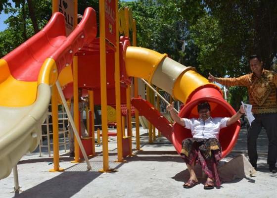 Nusabali.com - wow-wahana-bermain-anak-senilai-rp-2-m-sudah-terpasang