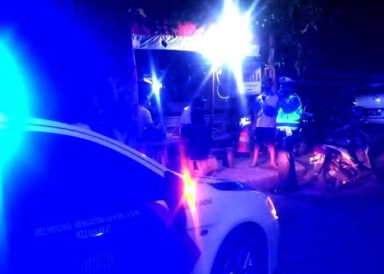 Nusabali.com - satlantas-polresta-gencarkan-patroli-malam