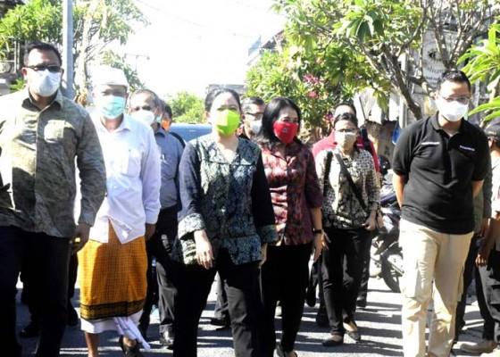 Nusabali.com - walikota-rai-mantra-dampingi-ketua-dpr-ri-menteri-sosial-dan-menteri-pppa-kunjungan-ke-denpasar
