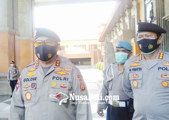 Nusabali.com - 100-personel-dalmas-polda-bali-dikirim-ke-jakarta