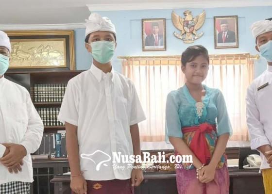 Nusabali.com - siswi-smp-pdn-raih-10-besar-di-ajang-ki-hajar-stem-2020