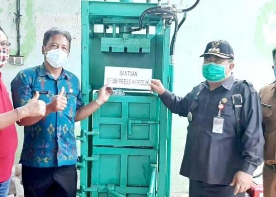 Nusabali.com - tabanan-dapat-kucuran-alat-pengolah-sampah-dari-pusat