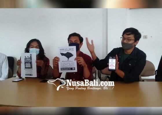 Nusabali.com - beredar-poster-ajakan-bikin-demo-rusuh-di-bali