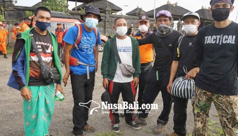 www.nusabali.com-larangan-mendaki-gunung-pemandu-cari-kerjaan-lain