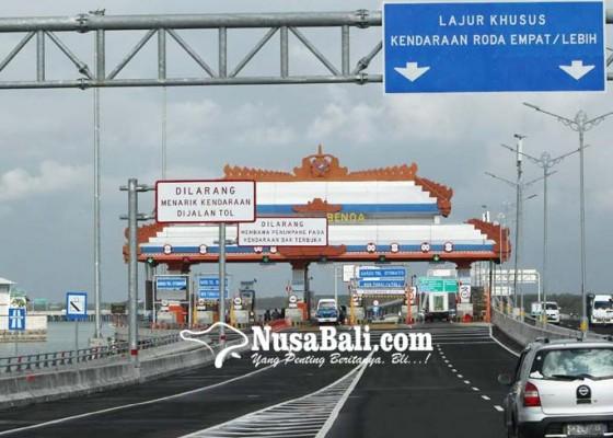 Nusabali.com - pengguna-jalan-tol-bali-mandara-anjlok