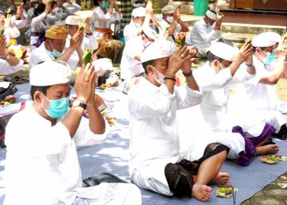 Nusabali.com - pemkab-jembrana-laksanakan-bhakti-penganyar-di-pura-luhur-giri-salaka