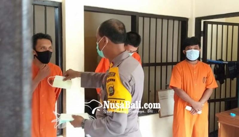 www.nusabali.com-tahanan-wajib-swab-saat-dilimpahkan