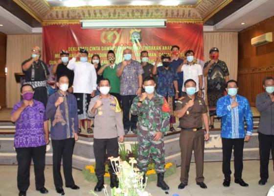 Nusabali.com - polres-badung-gelar-deklarasi-pilkada-damai